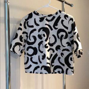 Zara Printed Shirt // Sz. L // Worn Once